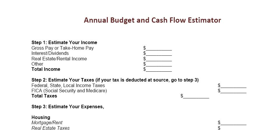 How To Prepare An Annual Budget To Keep Finances In Order  One Cent