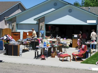 Garage sale and your children