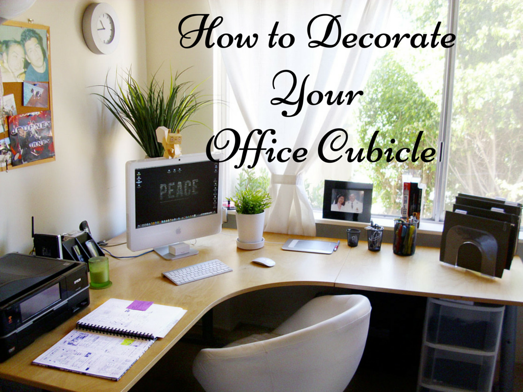 How to decorate your office cubicle to stand out in the for Decorated office