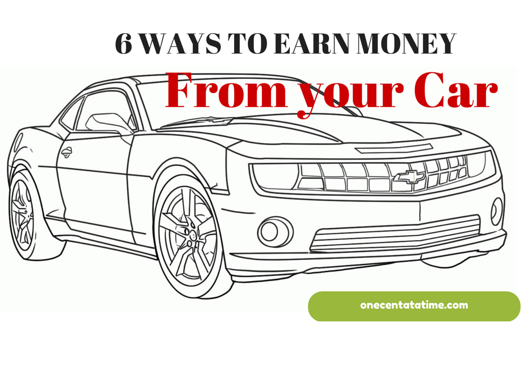 Make Extra Money From Your Car