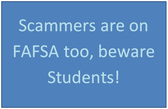 FAFSA Scam