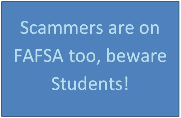 FAFSA Scam