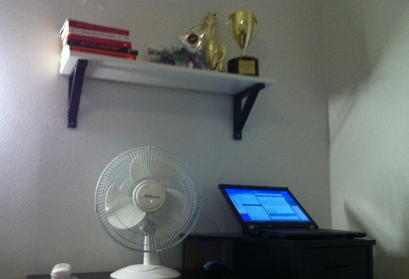 Beat the heat with fan