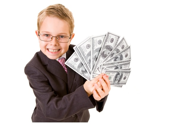 Teaching money to kids