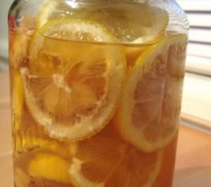 Honey lemon Slice