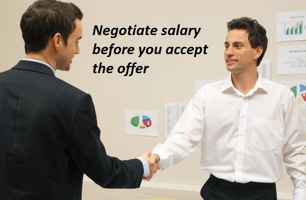 Negotiate Salary