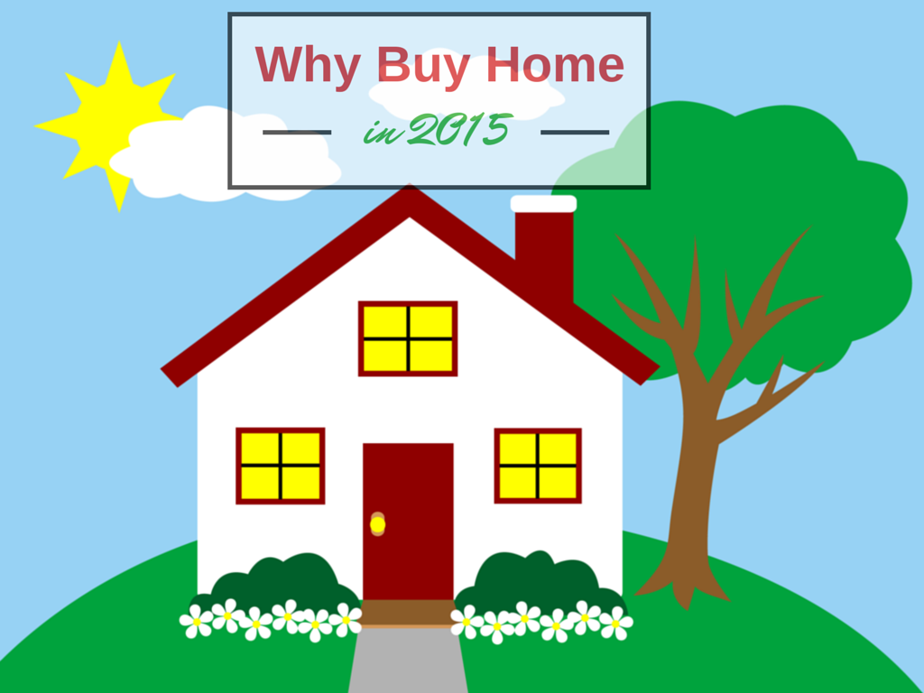 Why to buy home in 2015