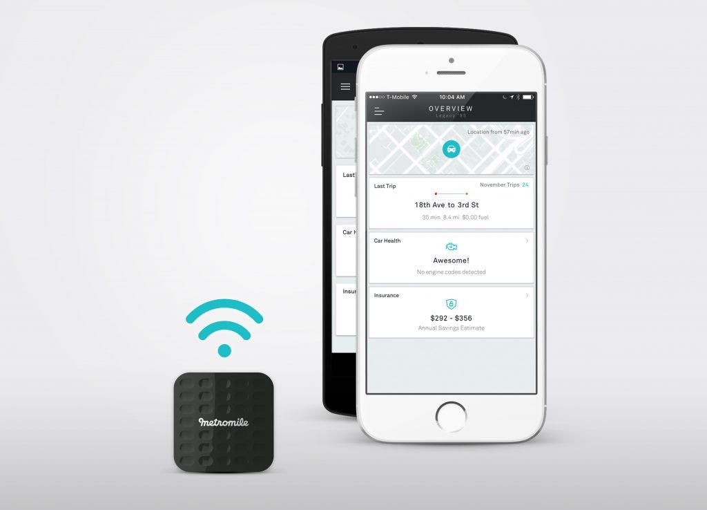 Metromile mobile app