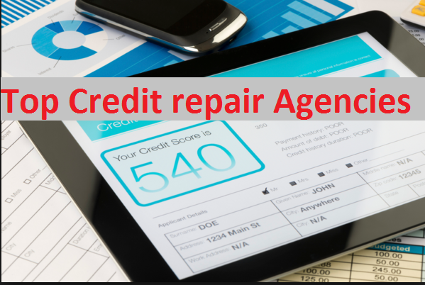 Top Credit repair Agencies