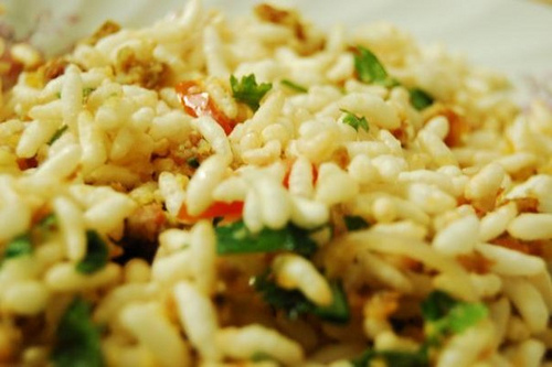 Indian puffed rice mix