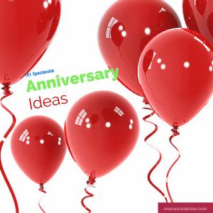 101 spectacular anniversary ideas