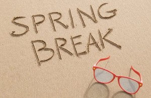 Spring Break spend less