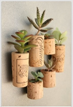Wine Cork Pot