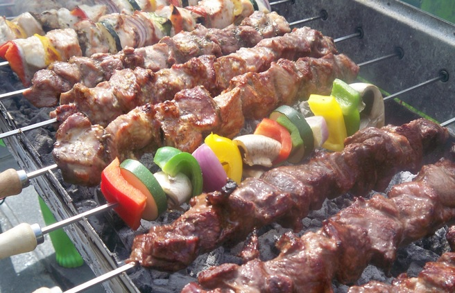 BBQ Grill on Memorial day