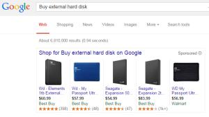 Google price comparison