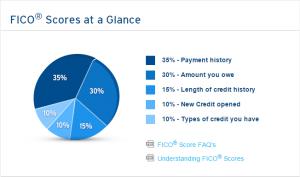 FICO Score Composition Chart