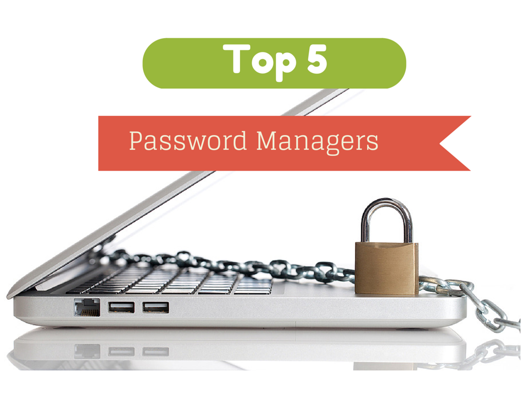 Top 5 Password Managers