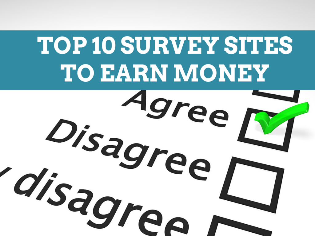 Top 10 Survey Sites to Earn Money