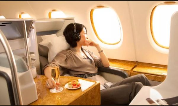 Business class travel with credit card signup bonuses