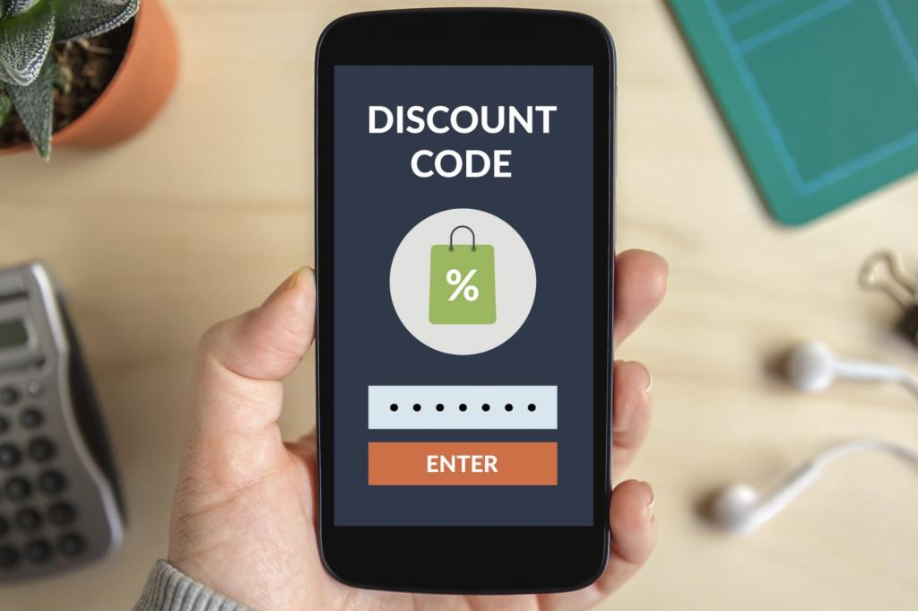 Códigos de desconto e como eles podem economizar dinheiro